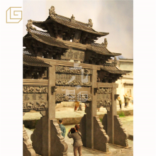 handicrafts miniature city model of the ancient town original scene recovery