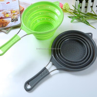 FDA,LFGB Certification and Eco-Friendly Feature Silicone Strainer