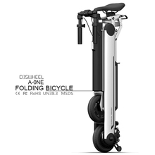 36V 350W Beach Fat Tire Folding Electric Bike/Cosheel 8 inch Foldable Ebike With Very Cheap Price