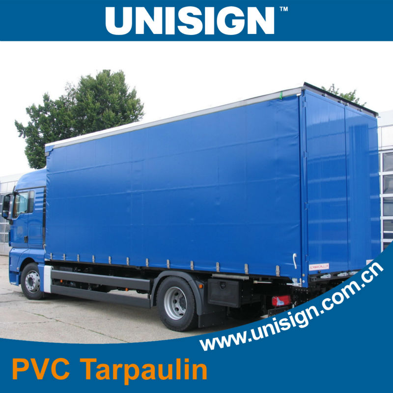 PVC canvas cover for truck