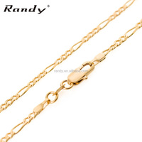 Cheap Wholesale 45cm 18K Gold Chains Necklace Jewelry