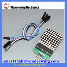 MAX7219 LED dot matrix module for Arduino