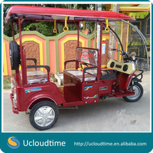 Hot sale 3 wheel tricycle 60V 1000W electric rickshaw for passenger