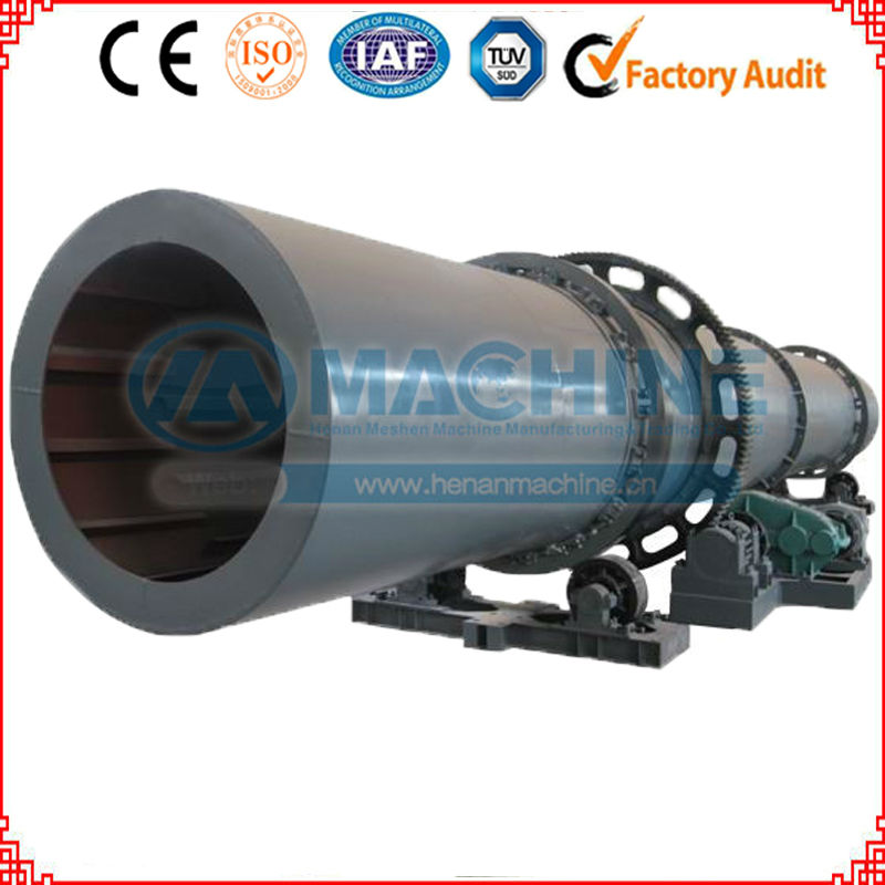 High output Cement/Coal / Lime/Clay Rotary Drum Dryer