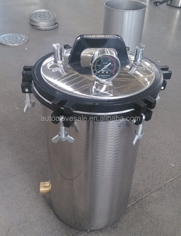 Lab High Pressure Autoclave, Sterilizer Machine for Medical, Hospital