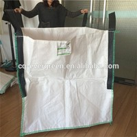 polyethylene sandbags scrap woven pp bulk bag, pp big jumbo bag for sand
