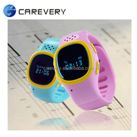 GPS child locator watch mobile phone two way communication gps tracking sos watch
