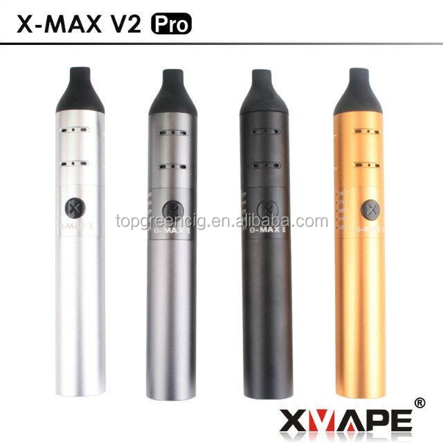 Free sample 2016 best selling wax/ dry herb vaporizer e vaporizer e cigarette Xvape Xmax V2 Pro in stock