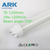 high quality uv light tube led t8 tube 10w citizen chip meanwell driver for grocery store/shop