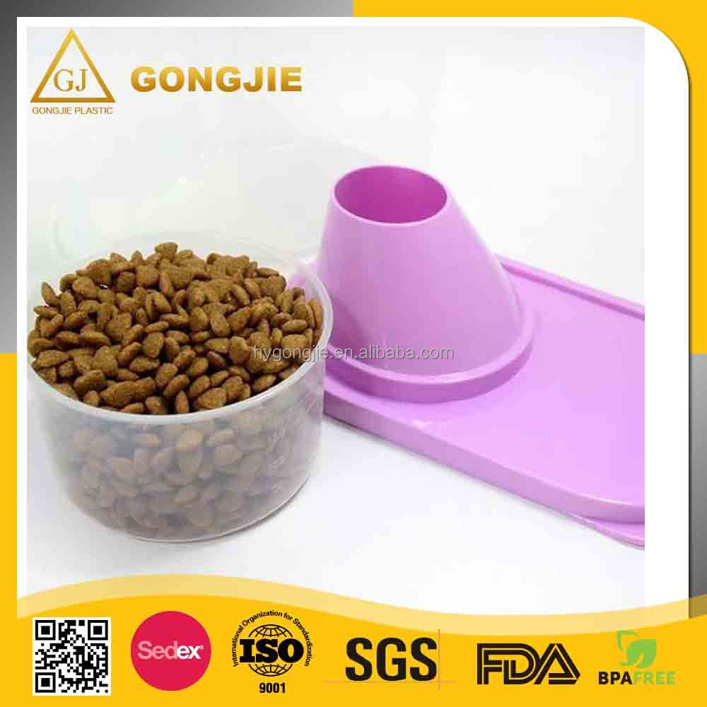 2017 hot sell, Customized Plastic dog cat food container