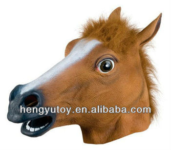 2015 hot selling king party masks for celebrations KING KONG OF horse head mask