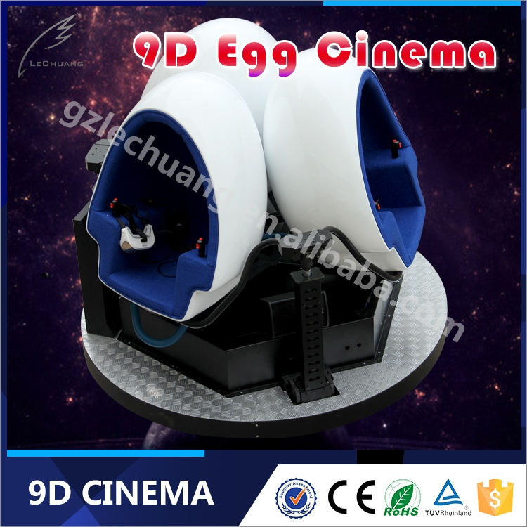 Full Automatic Mode 9D VR Cinema Small Business Investment High Income With Funny Movies