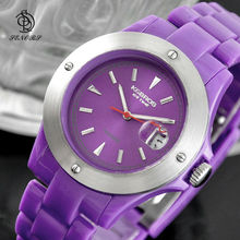 plastic case silicone band watches custom logo
