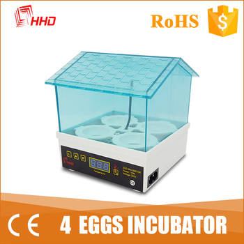 HHD newest design mint green fresh color mini egg incubator price 4 egg capacity YZ-4