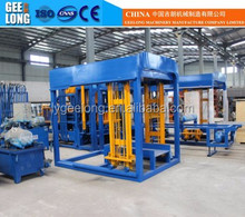 Small hydraulic QT4-15 fully automatic concrete brick making machine nigeria