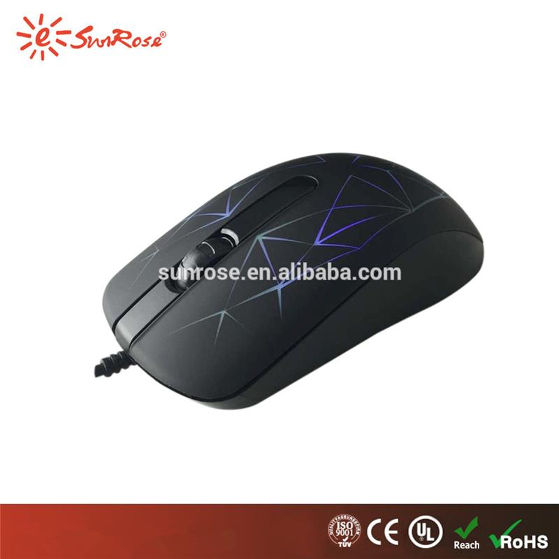 Plastic usb mouse specification types of computer mouse gaming mouse with led light with CE certificate