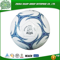 wholesale promotional Emboss logo soccer ball 2015