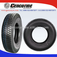 315/80r22.5 truck tire and radial tyre Gencotire heave load steering drive wheel position