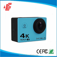 "4k 30fps 2.0"" LCD 170degree action camera waterproof 30m wide angle 4k sport camera"