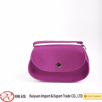 Wholesale High Quality Multi-color Felt Shoulder Long Strip Bag From China Supplier