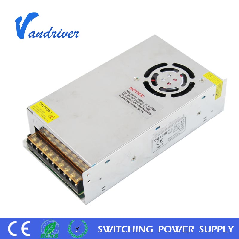 S-250-12 Constant Voltage SMPS LED Strip Light Driver 250W 12V 20A AC to DC Switching Power <strong>Supply</strong> for CCTV