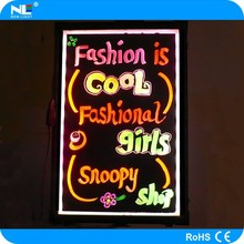 Neon led outdoor display board for advertising, 2013 new inventions led board led moving message board programmable led message