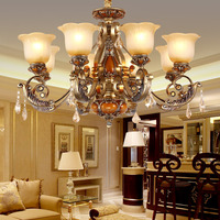 gold contemporary led chandelier pendant light