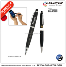 Customized Ellis USB Stylus Ballpoint Pen 2GB (T232523) Promotional USB Flash Drives