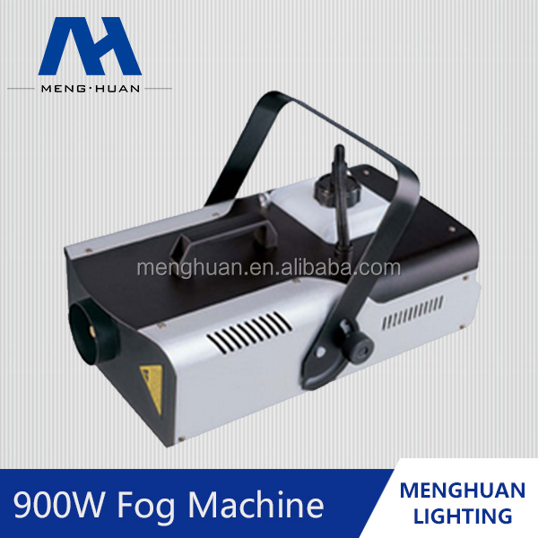 2016 Best Sale Professional Stage light effect battery flexsible LED 900W DMX512 Low Snow Fog machine