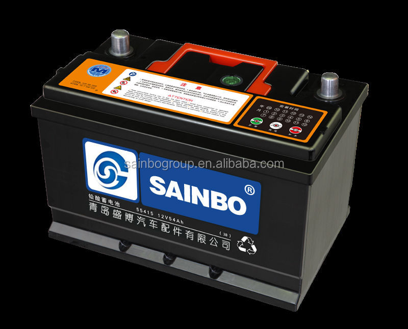 maintenance free car battery dry charged car battery dry car battery from SAINBO GROUP