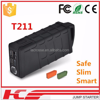 high capacity 12V car power bank jump starter