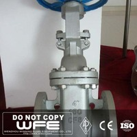 "WFE API600 4"" inch Stainless Steel CF8 CF8M CF3 CF3M Flange End Flexible Gate Valve"