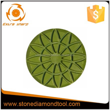 "4""/100mm Concrete Grinding Pads/Tools for Stone Floor Restoration"