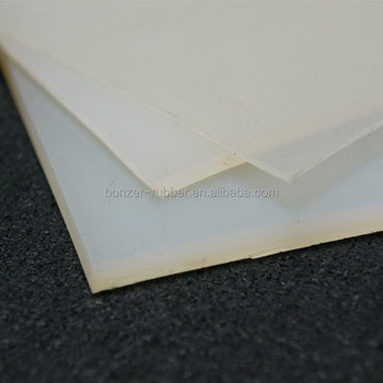 Single & double sided adhesive backed silicone rubber sheet