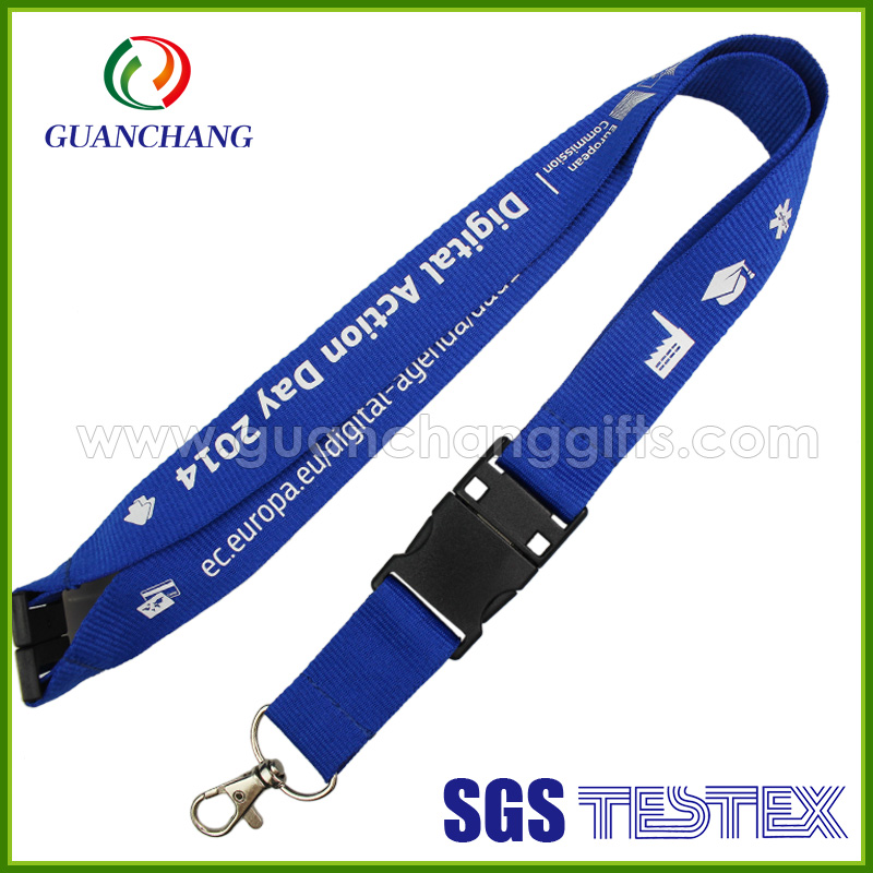 wholesale new design 1 dollar gift items usb flash drive neck printed lanyard