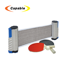 hot sale for kids indoor &outdoor mini table portable tennis nets