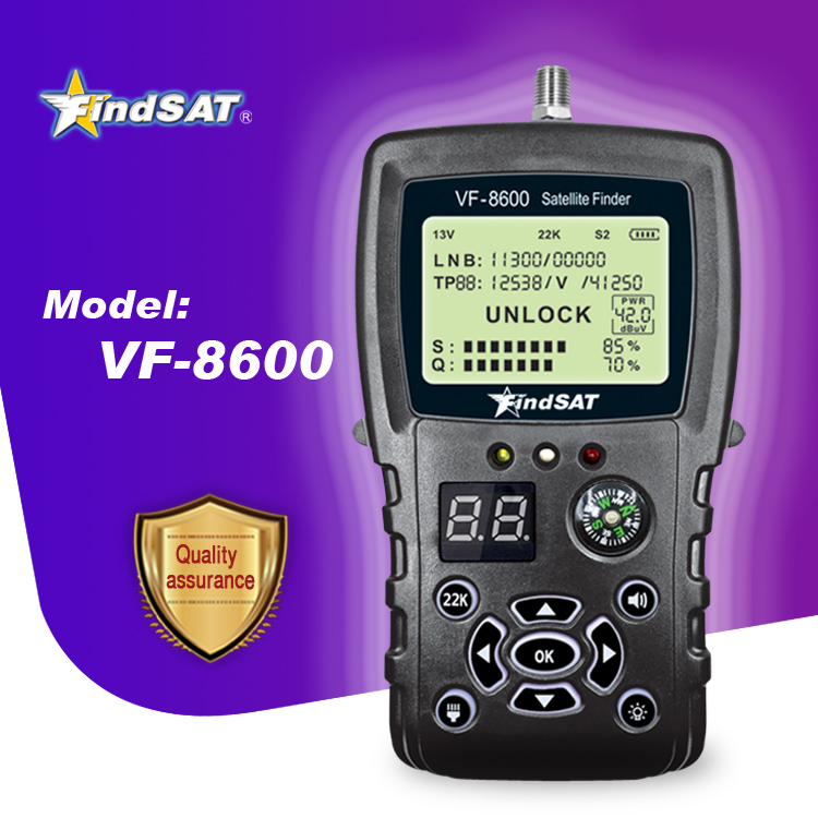 Mini <strong>Satellite</strong> Finder Meter FindSAT VF8600