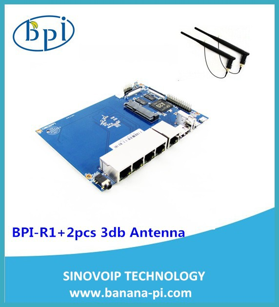 Banana PI BPI-R1 for Smart Home Networking Use and Run Game and Supports 1080P High Definition Video Output