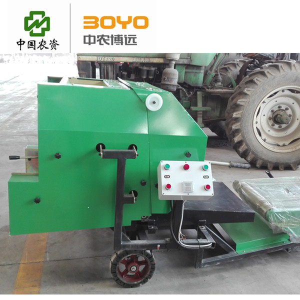 Silage baler machine for silage pieces packing