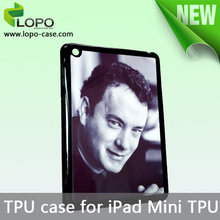 Customizable Blank sublimation TPU case for i Pad mini phone cover