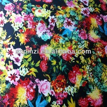 Hote sale design digital print of small flower on 100%cotton poplin fabric for lady's cloth