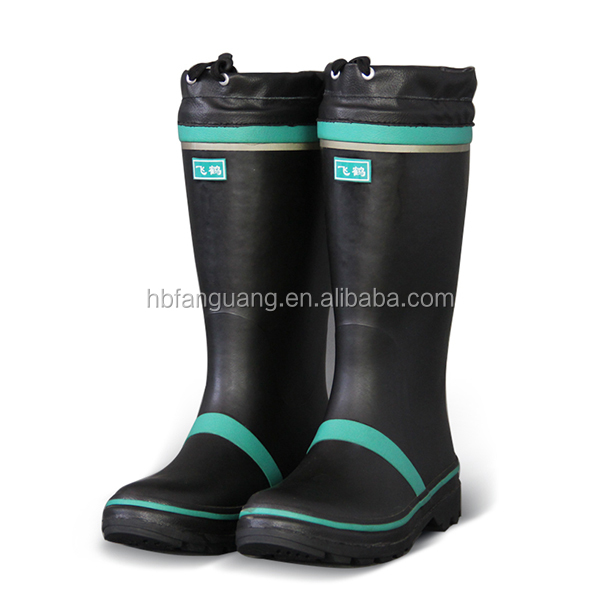 reflective rubber boots 53 years industry experience mining boots