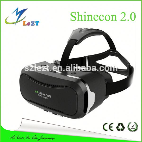 2016 new product new plastic vr 3d glasses vr-200 Google Cardboard Vr box 2.0 play for Smartphone