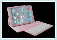 Removable Wireless Bluetooth Keyboard Leather Case Stand Cover for iPad air 2