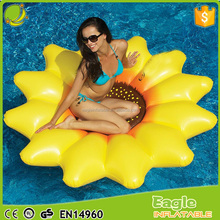 Summer holiday giant inflatable float big inflatable indoor sunflower pool float/inflatable sunflower float