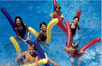 Inflatable Pool Noodle Float 6 Doodles, Swimming Water Floating Toy Fun Summer