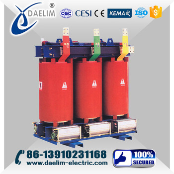 SCB10-1000kva 10kv Epoxy Resin Cast Dry-Type Power Transformer