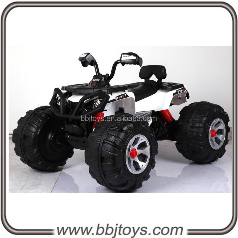 24V with 2 motors&2 speeds with music for electric kids quad