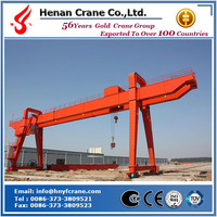 MG double-girder gantry crane with hook cap 200/32t