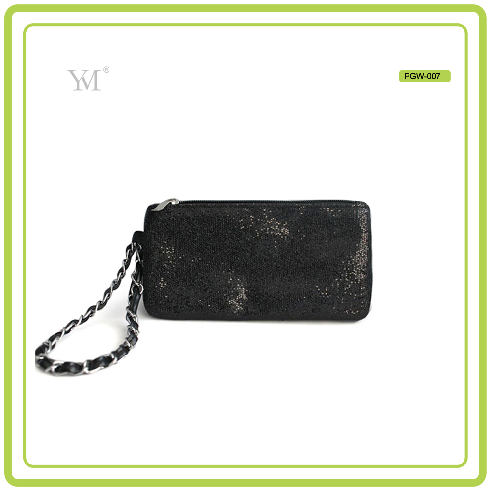 wholesale black quilted handle clutch purse bag best Selling purse bag
